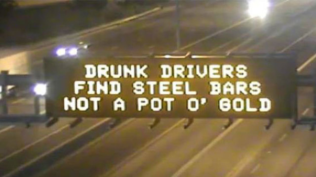 ADOT's and AAA There for You on St. Patty's Day