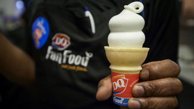 Free Vanilla Cones at DQ Today