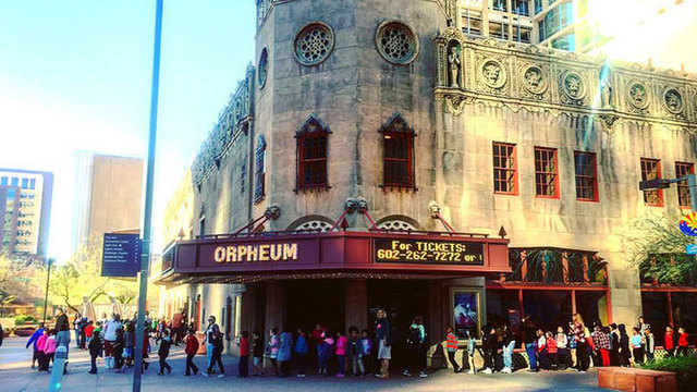 Orpheum Theatre is One of the Nation's Most Spectacular