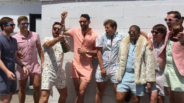 Male Rompers Have Arrived