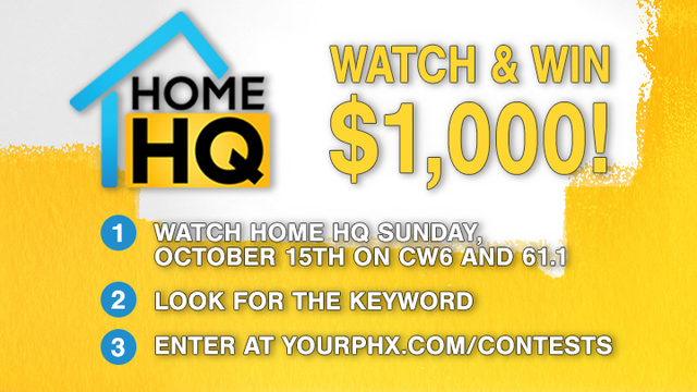 Home HQ: Watch and Win